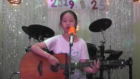 乔淇同学吉他弹唱《小宝贝》