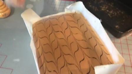 古早蛋糕之千叶纹