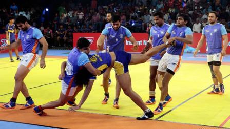 """印度国家的这个体育项目令人大跌眼镜,竟然使我们儿时玩的""""老鹰捉小鸡""""!"""