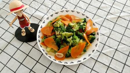 爱吃西兰花的要收藏,蚝油西兰花的详细做法,比饭店的好吃