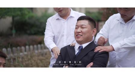 20191020刘忱&张婷婷婚礼席前快剪「营口爱诺」
