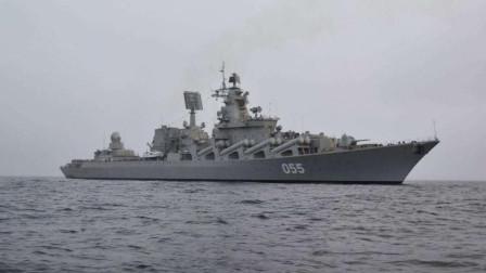 公开叫板特朗普,055号战舰在地中海火力全开,叙:救星终于到了