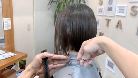 女人过了30岁这款短发都应该尝试一下,减龄有气质,时尚正流行
