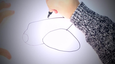 儿童简笔画:如何为孩子们画飞机_一步一步的飞机画课 简笔画教学视频
