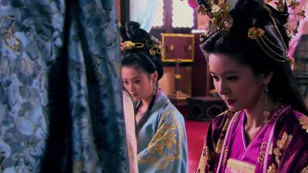 隋唐英雄:眼看太子要被处罚,妖妃丽华张口几句话就解决!