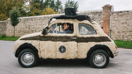 汽车浑身上下全是头发?国外设计师花62万打造,它还拿了大奖!