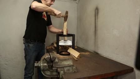 焊接一个劈柴工具,卡尺划线全世界通用,你平时也是这么干的吧