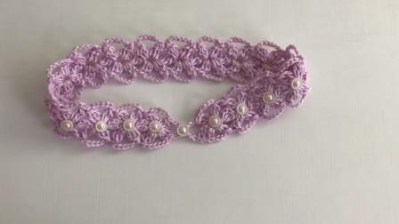 「母婴针织」简易漂亮的儿童发带