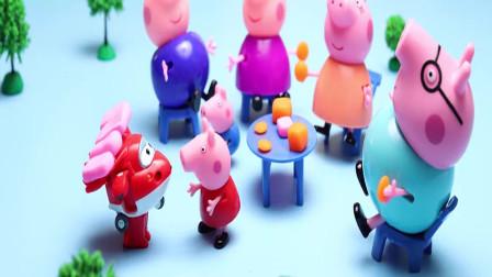 合金汽车玩具大集合,小猪佩奇全家一人一辆!