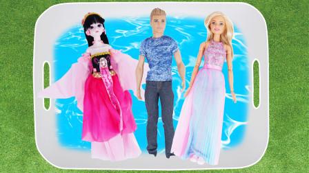 儿童玩具集合 有芭比娃娃 睡衣小英雄 苏菲亚公主等