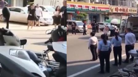 痛心!姐姐马路上倒车 临产的妹妹被撞身亡