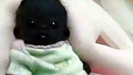 世界上最黑的婴儿现在怎么样了?网友:这要是在晚上,谁看得到啊