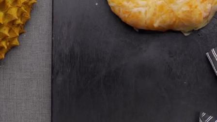 酥皮榴莲芝士饼,一咬就爆浆,我觉得,手抓饼可能要涨价了!