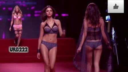 欧美模特内衣秀: 时尚元素,秀出风采
