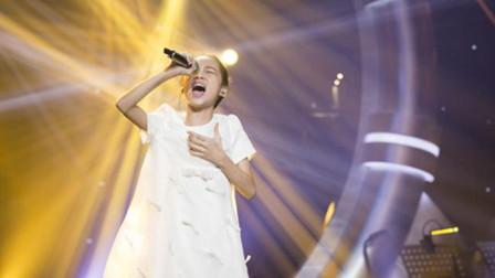 11岁女孩演唱经典歌曲,本以为是柔美童声,开口直接唱哭谭维维