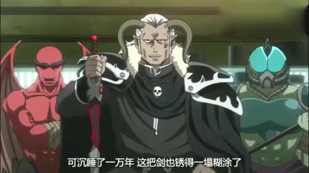 《银魂》继宇宙勇者之后,宇宙魔王也上门要求为传说中的魔剑保养除锈