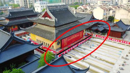 中国这项超级工程火了,将百年宝殿平移30米,网友直呼不可思议