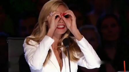 达人秀:阿根廷表演者的节奏劲鼓!太棒了,女评委嗨到不行!