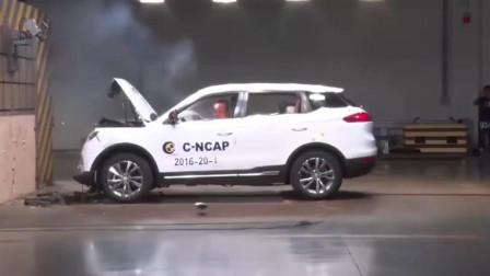 谁说国产汽车不行,吉利汽车全方位碰撞测试,安全性绝对让你服