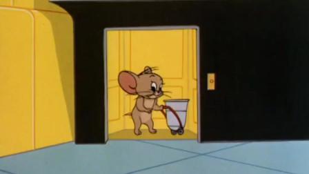 猫和老鼠:杰瑞出门弄菜,竟把汤姆鼻子摘了,杰瑞这速度无敌!