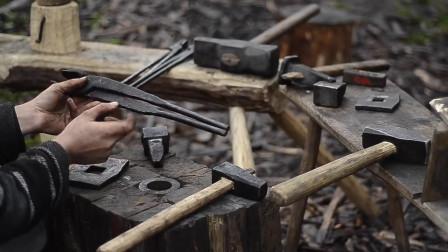 自制的模板,支撑板和漂移-我展示我的铁匠工具