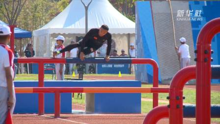 军运会|中国选手打破军事五项男子个人全能障碍赛世界纪录