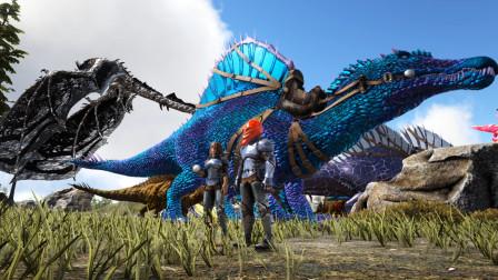 方舟生存进化-神话元素第48期 海底遇到机械苍龙 帅呆了!
