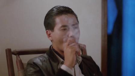 江湖情:发哥以为刘嘉玲拿烟灰缸给他接烟灰,没想直接给掐灭