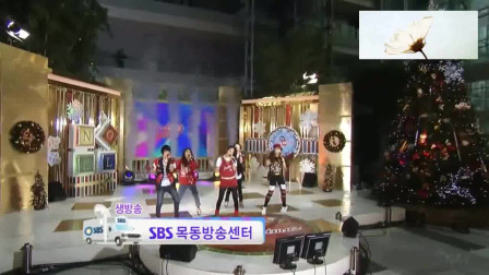f(x)《Chu~》舞台,那时候的雪莉好年轻,完全是少女们