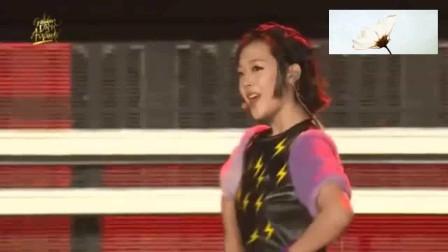 f(x)《Electric Shock》舞台,最喜欢雪莉在台上跳舞唱歌的样子