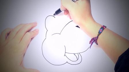 儿童简笔画:如何动物 简笔画教学视频
