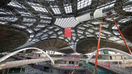 """北京大兴机场航站楼,竟靠8根柱子支撑,被称""""世界新七大奇迹"""""""