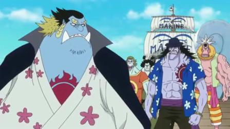 海贼王:最早的人鱼老大,不死应该也是四皇的实力,那时甚平还是黄头发!