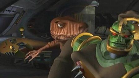 变形金刚:犀牛发现有外星站,靠近他们的位置,想再深入显示一下