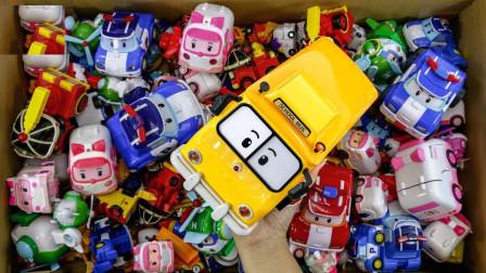 玩具盒子之炫彩超级飞侠模型玩具展示