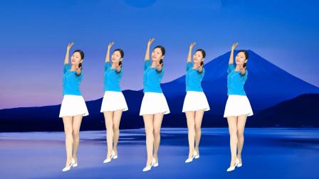 广场舞《泉水叮咚响》经典老歌优美好学步子舞