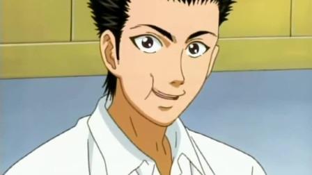 网球王子:手冢和乾齐聚寿司店,贪吃桃城被芥末辣哭,真是太逗比