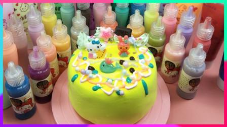 灵犀小乐园之美食小能手 创意纸黏土奶油胶艺术蛋糕:做个创意小厨师