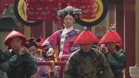 甄嬛传:华妃来向皇后请安,这出场方式太霸气了,宠妃模式全启!