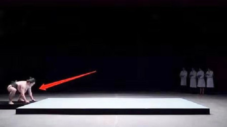 见识一下日本最强胶水,相扑力士猛扑挑战,下一秒太搞笑了