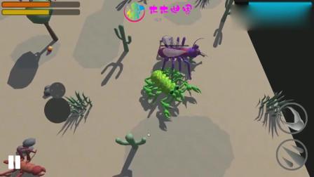进化模拟器 这些食肉巨虫怎么长出了翅膀,还发射毒针