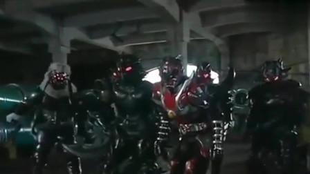 铠甲勇士:炎龙铠甲叛变,黑犀铠甲大战黑暗军团,风鹰侠及时救场