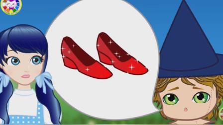 一双红色高跟鞋引发的爱情,瓢虫雷迪和黑猫诺儿在一起了