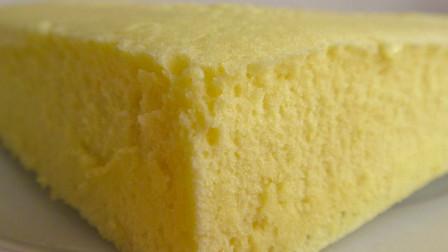 """很多人想学""""蒸鸡蛋糕""""做法,它来了!不用打发,不发酵,很好吃"""
