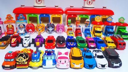 全员汽车大比拼:变形警车珀利VS旋风战车队VS超级英雄,谁是冠军