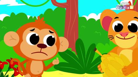 宝宝属于兽医_杰克和吉尔动物宋_儿童歌曲和童谣由小天使,儿童歌曲,动画