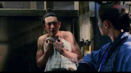 爆笑剧:林更新洗完澡出来,马思纯直接飞进来,下一秒搞笑了