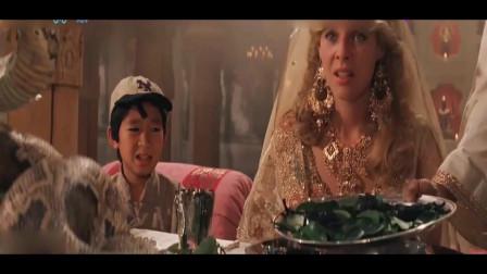 夺宝奇兵:这印度还吃活蟒,大甲虫?看到这菜单都不想吃了!