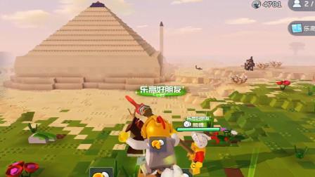 月鼓解说乐高无限第15期金字塔旁搭建基地