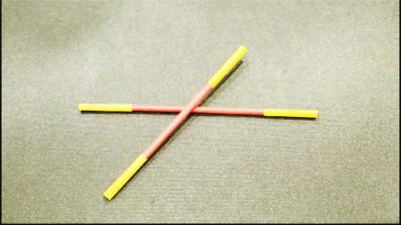 儿童手工制作大全 金箍棒手工折纸教程